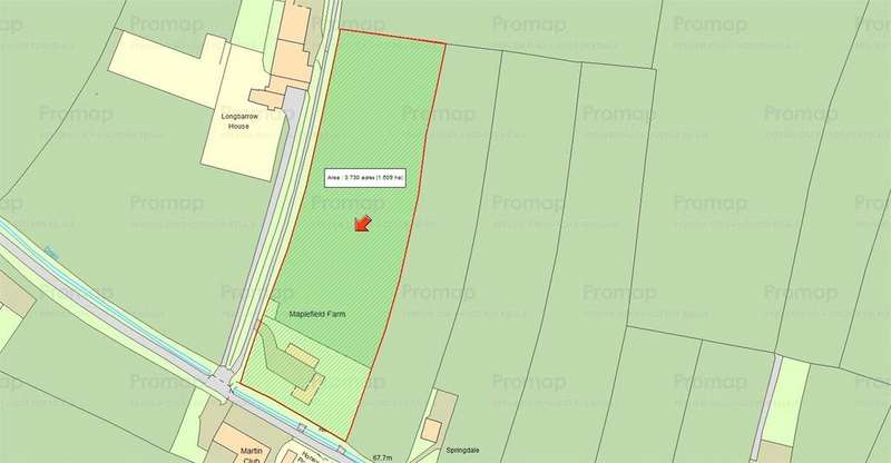 Land Commercial for sale in Martin, Fordingbridge, Hampshire, SP6