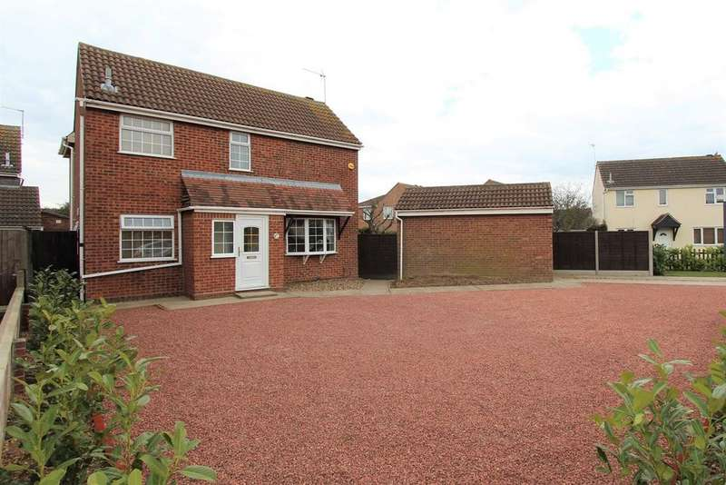 4 Bedrooms Detached House for sale in Tollgate Drive, Stanway, Colchester, CO3