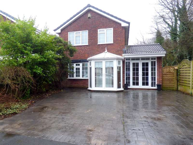4 Bedrooms Detached House for sale in Silverdale Close, Huyton, Liverpool