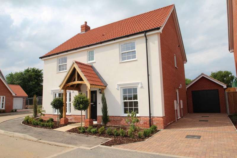 4 Bedrooms Detached House for sale in Oaks Lea, Acle