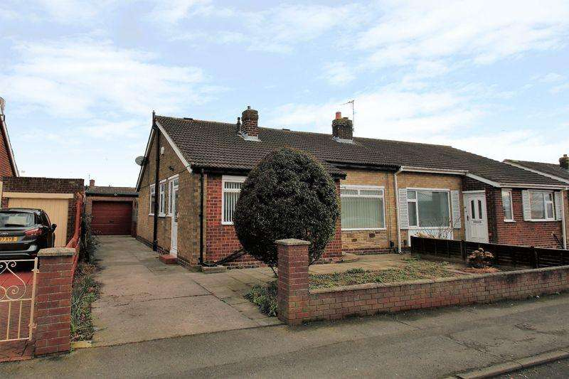 2 Bedrooms Semi Detached Bungalow for sale in Seymour Grove, Eaglescliffe TS16 0LB