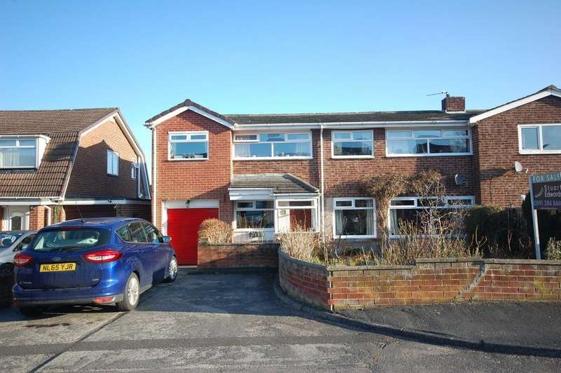 4 Bedrooms Semi Detached House for sale in Aspen Close, Durham
