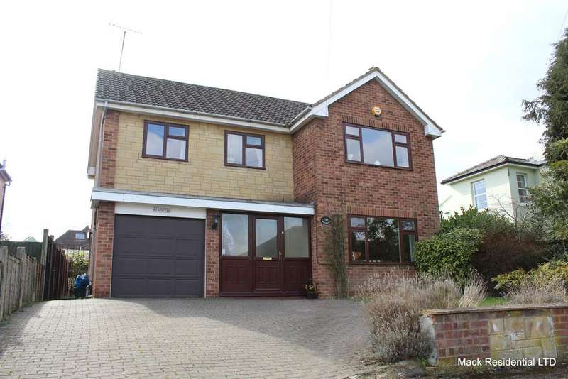 4 Bedrooms Detached House for sale in Fairmount Road, Cheltenham, Gloucestershire