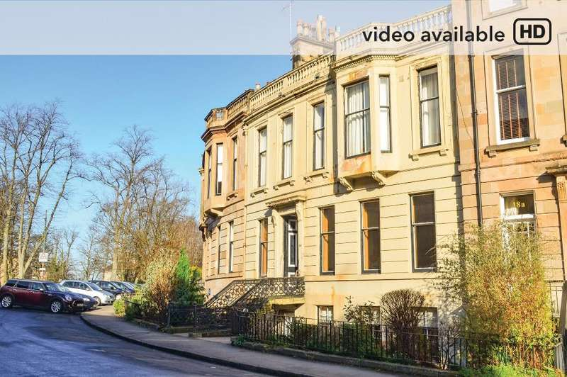1 Bedroom Flat for sale in Westbourne Gardens, Dowanhill, Glasgow, G12 9XD