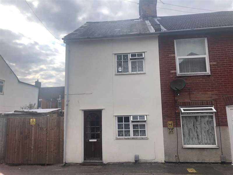 2 Bedrooms End Of Terrace House for sale in New Park Street, Colchester
