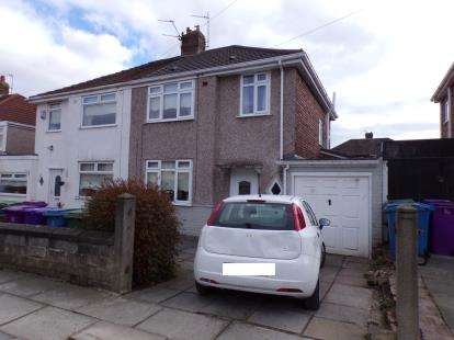 3 Bedrooms Semi Detached House for sale in Linkside Road, Woolton, Liverpool, Merseyside, L25