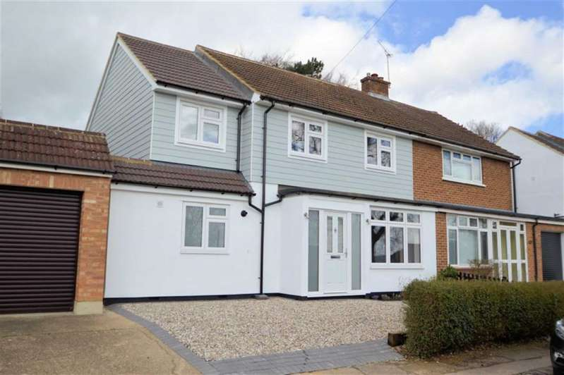 4 Bedrooms Semi Detached House for sale in Western Avenue, Epping