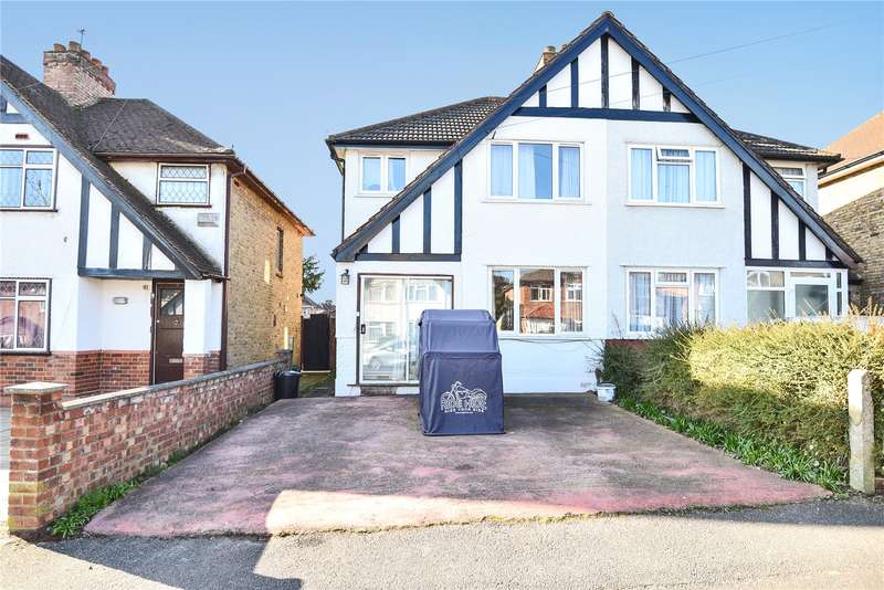 3 Bedrooms Semi Detached House for sale in Harvey Road, Hillingdon, Middlesex, UB10