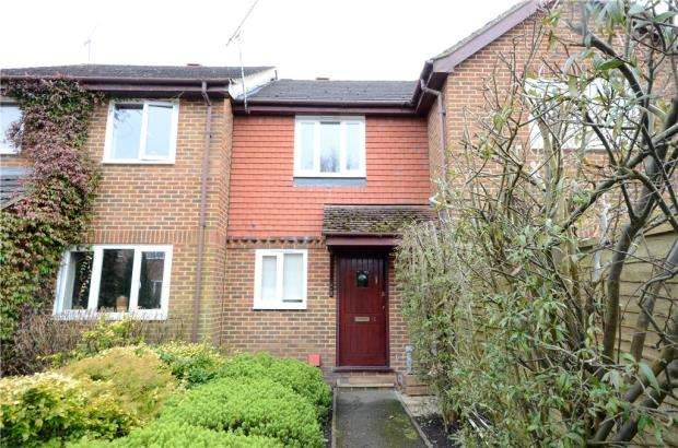 2 Bedrooms Terraced House for sale in Nether Vell-Mead, Church Crookham, Fleet