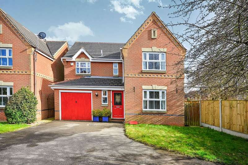 4 Bedrooms Detached House for sale in Grafton Close, SUTTON-IN-ASHFIELD, NG17