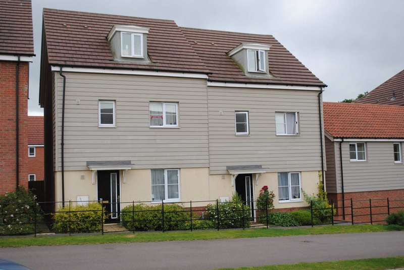 4 Bedrooms Semi Detached House for rent in Sir Alfred Munnings Road, Costessey