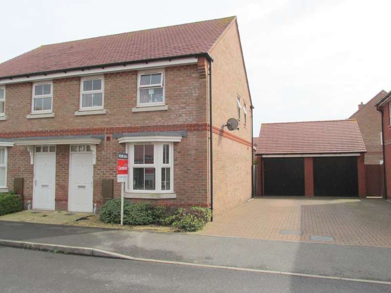 3 Bedrooms End Of Terrace House for sale in Teasel Grove, Felpham, Bognor Regis, West Sussex, PO22 8DG
