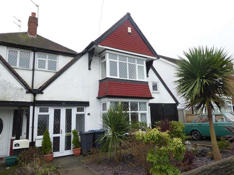 4 Bedrooms Semi Detached House for sale in Aubrey Road, Harborne, Birmingham, B32 2BB