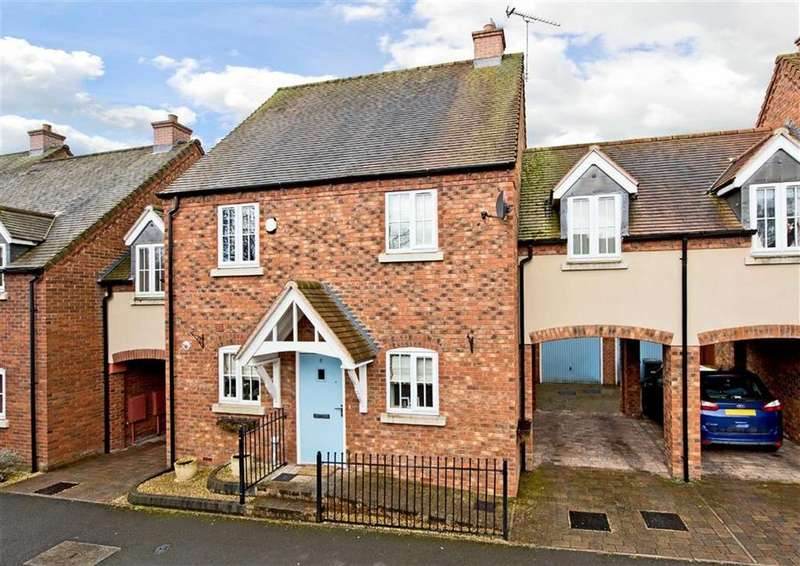 4 Bedrooms Link Detached House for sale in 6, Stanham Close, Wombourne, Wolverhampton, South Staffordshire, WV5