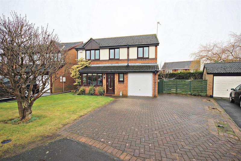 4 Bedrooms Detached House for sale in Bellerby Drive, Ouston, Chester Le Street