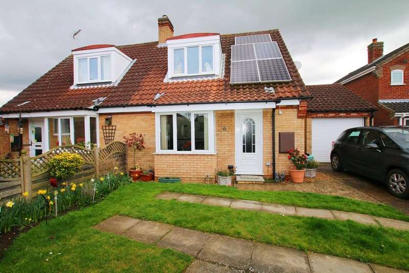 3 Bedrooms Semi Detached Bungalow for sale in Haddenham, Ely Cambridgeshire