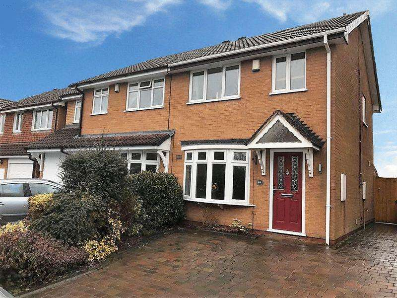 3 Bedrooms Semi Detached House for sale in Stephenson Drive, Wolverhampton