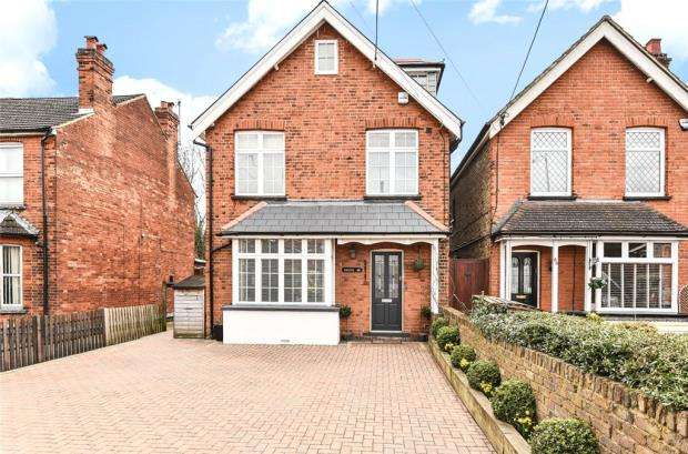 4 Bedrooms Detached House for sale in Furlong Road, Bourne End, Buckinghamshire