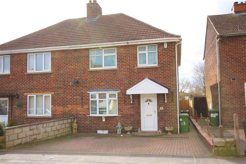 3 Bedrooms Semi Detached House for sale in Chestnut Avenue, Ripley