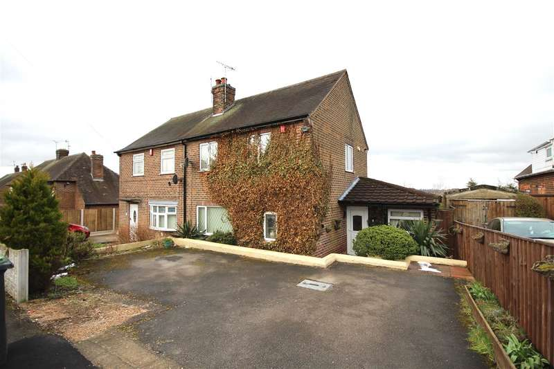 2 Bedrooms Semi Detached House for sale in The Glebe, Cossall