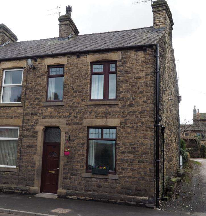 2 Bedrooms End Of Terrace House for sale in Buxton Road, Furness Vale, High Peak, Derbyshire, SK23 7PH