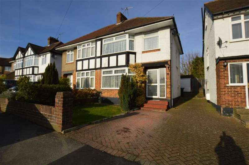 3 Bedrooms Semi Detached House for sale in Valley Walk, Croxley Green, Rickmansworth Hertfordshire, WD3