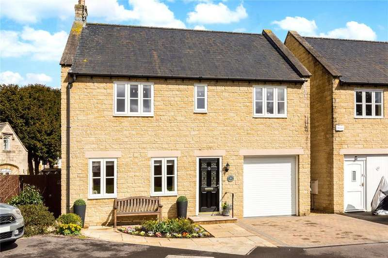 4 Bedrooms Detached House for sale in Upfield Close, Paganhill, Stroud, Gloucestershire