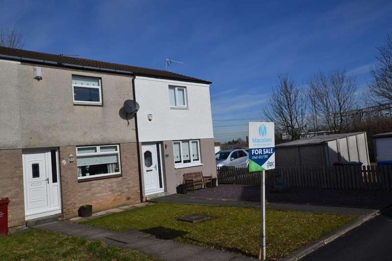 2 Bedrooms Terraced House for sale in 26 Hallside Drive, Glasgow, G72 7DU