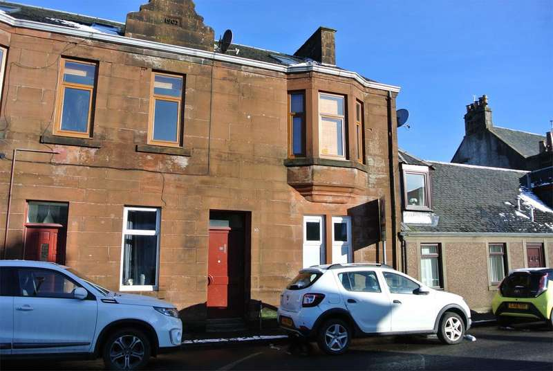 1 Bedroom Ground Flat for sale in 10B Glasgow Road, Strathaven, ML10 6LZ