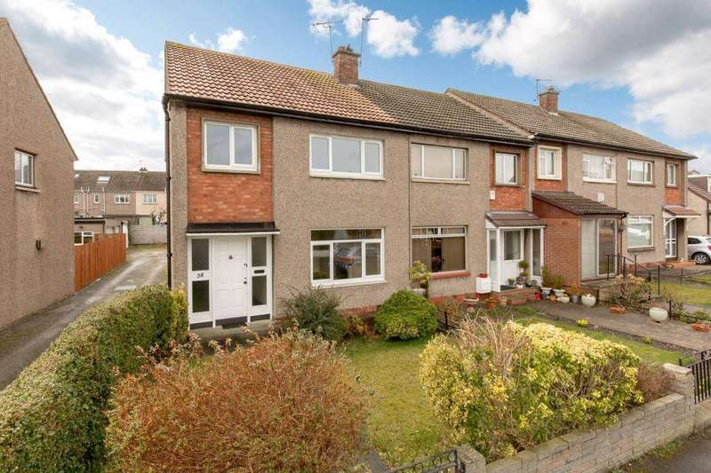 3 Bedrooms End Of Terrace House for sale in 58 Mountcastle Terrace, Edinburgh, EH8 7SG