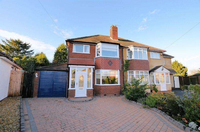 3 Bedrooms Semi Detached House for sale in Conway Avenue, Quinton