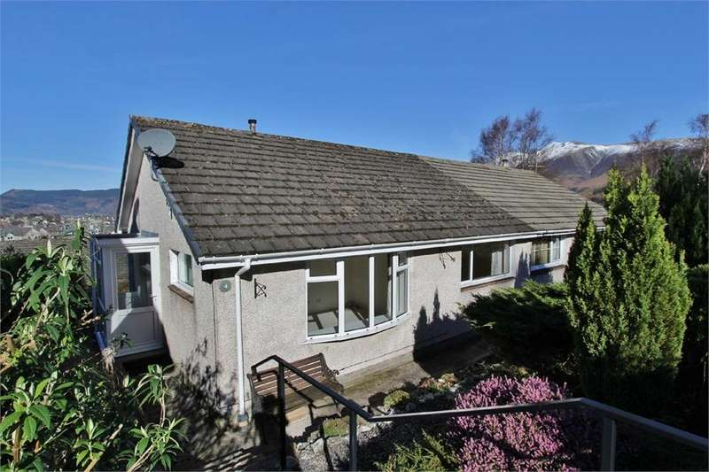 2 Bedrooms Semi Detached Bungalow for sale in 4 Manesty View, Keswick, Cumbria