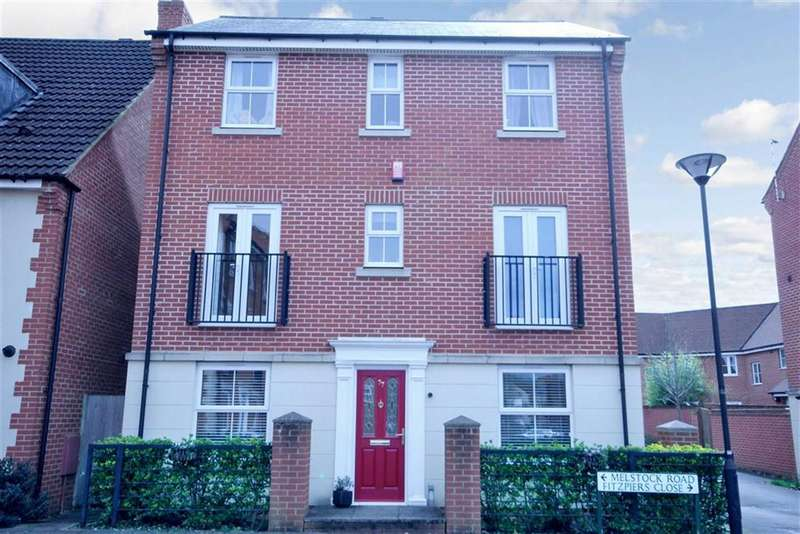 4 Bedrooms Town House for sale in Melstock Road, Swindon, Wiltshire