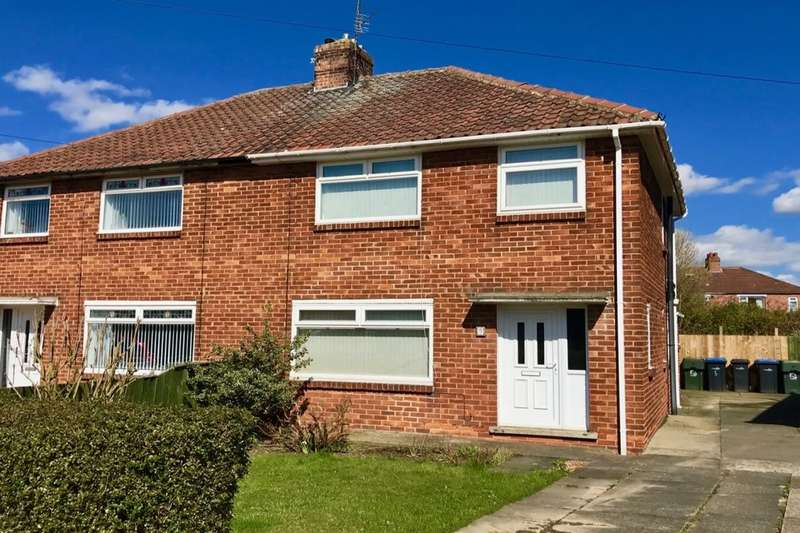 3 Bedrooms Semi Detached House for sale in Asterley Drive, Middlesbrough, TS5