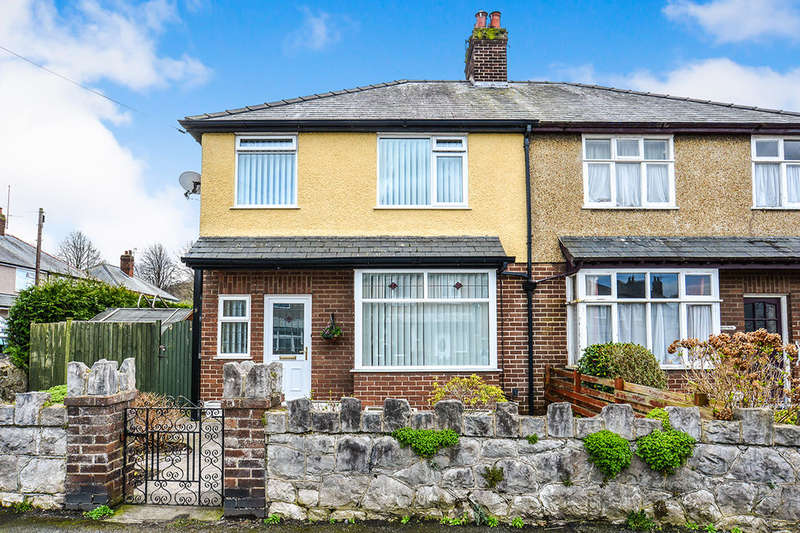 3 Bedrooms Semi Detached House for sale in Bryn Marl Road, COLWYN BAY, LL28