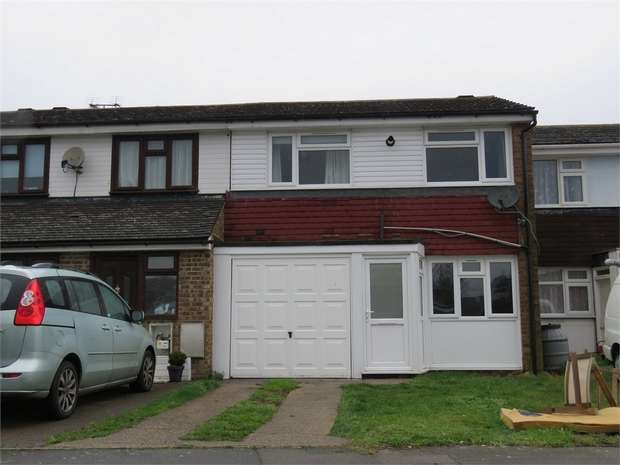 3 Bedrooms Terraced House for sale in Sunnybank, Murston, SITTINGBOURNE, Kent