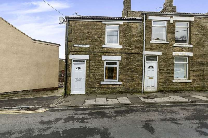 2 Bedrooms Terraced House for sale in Grove Road, Tow Law, Bishop Auckland, DL13