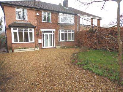 5 Bedrooms Semi Detached House for sale in Lyme Road, Hazel Grove, Stockport, Cheshire