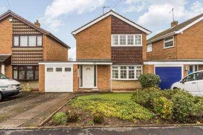 3 Bedrooms Detached House for sale in Balmoral Road, Wordsley, Stourbridge, West Midlands