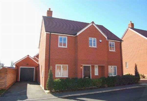 4 Bedrooms Detached House for sale in Ellis Way, Abington Vale, Northampton NN3 3BF