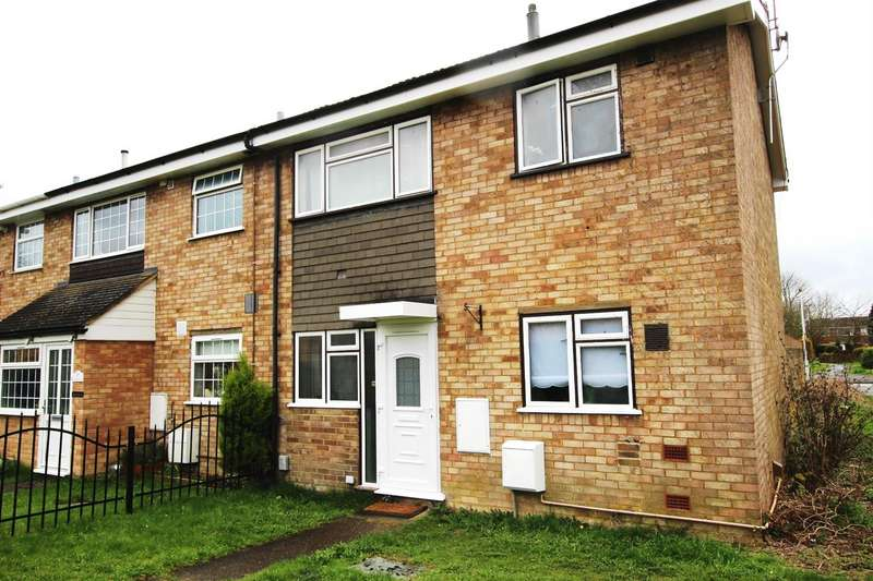 3 Bedrooms End Of Terrace House for sale in Grangeway, Houghton Regis, Dunstable