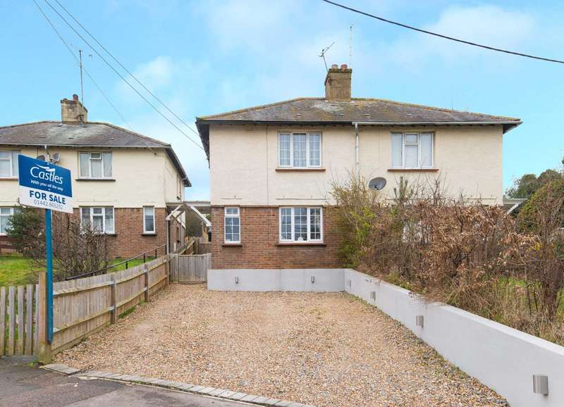 2 Bedrooms Semi Detached House for sale in Woodlands Avenue, Berkhamsted