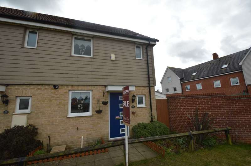 2 Bedrooms End Of Terrace House for sale in Kestrel Avenue, Costessey