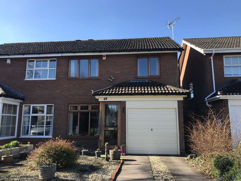 3 Bedrooms Semi Detached House for sale in Langcombe Road, Shirley, Solihull, B90 2PR