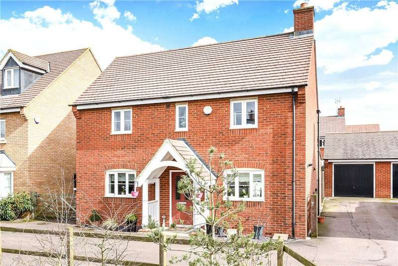 4 Bedrooms Detached House for sale in Heron Gardens, Wixams, Bedfordshire