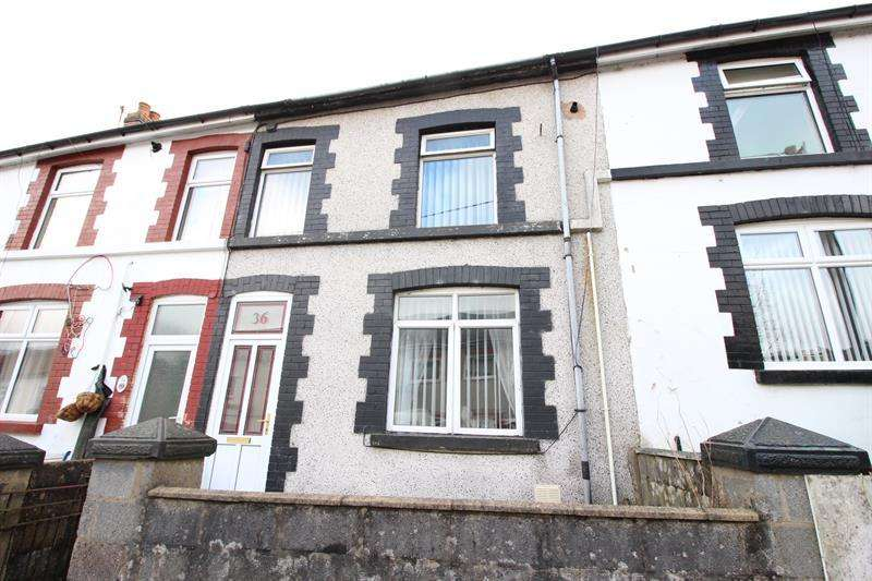 3 Bedrooms Terraced House for sale in Upper Francis Street, Abertridwr, Caerphilly