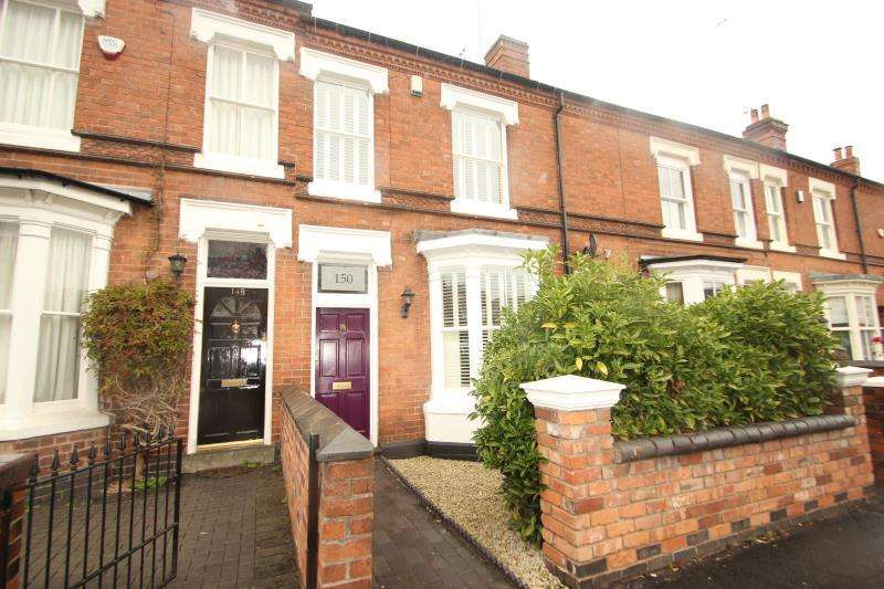 3 Bedrooms Terraced House for rent in 150 Park Hill Road, Harborne, Birmingham, B17 9HD