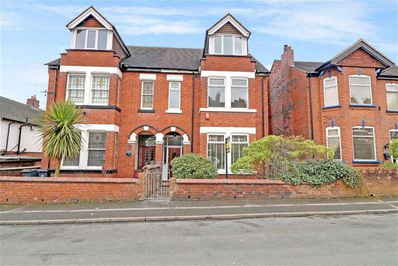 5 Bedrooms Semi Detached House for sale in Marsh Avenue, Wolstanton, Newcastle