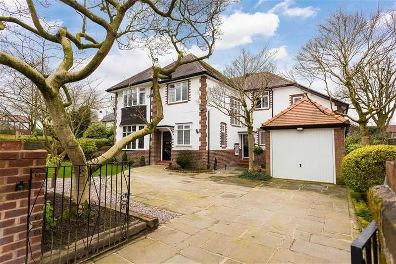 4 Bedrooms Detached House for sale in Kenwood Avenue, Hale, Cheshire, WA15