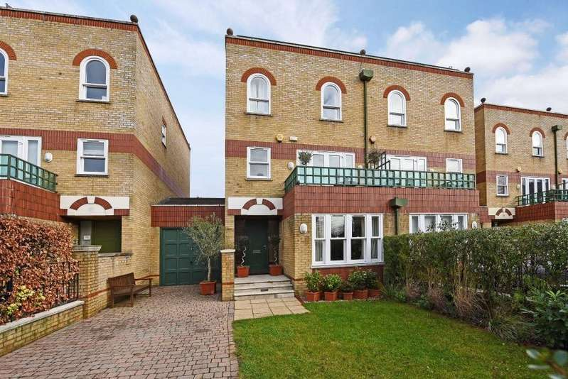 5 Bedrooms House for sale in Trinity Church Road, Harrods Village, Barnes, SW13